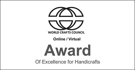 cci-wcc award of excellence for handicrafts